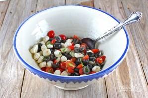 Порционный салат - фото шаг 5