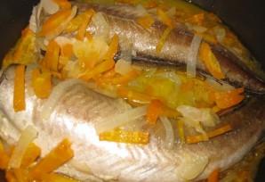 Рыба с овощами в мультиварке - фото шаг 5