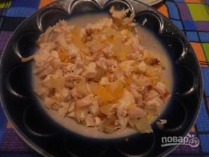 Канапе с ананасами, курицей и апельсинами - фото шаг 7