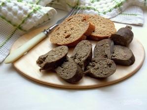 Домашняя печеночная колбаса - фото шаг 8
