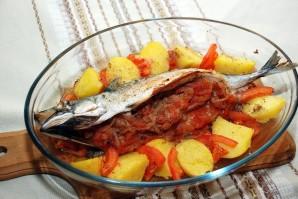 Рыба фаршированная и запеченная - фото шаг 7