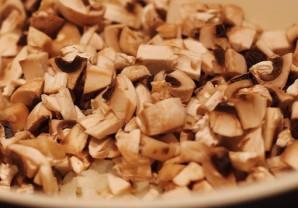 Пенне с курицей и грибами - фото шаг 4