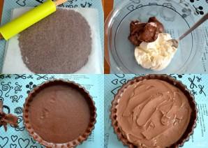 Шоколадный крамбл - фото шаг 2