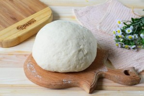 Хачапури с сыром и персиками - фото шаг 4