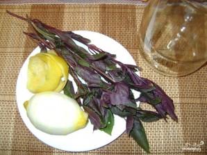 Базиликовый лимонад - фото шаг 1