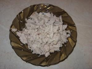 Пирог с грибами и мясом - фото шаг 5