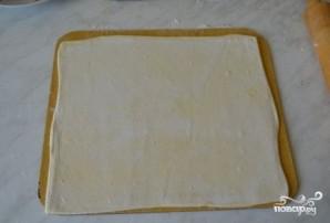 Сосиски в слоеном тесте в духовке - фото шаг 1