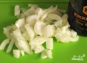 Кролик, тушенный с капустой - фото шаг 3