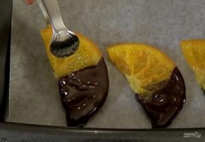 Апельсиновые дольки в шоколаде - фото шаг 4