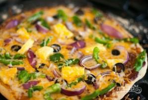 Пресное тесто для пиццы без дрожжей - фото шаг 5