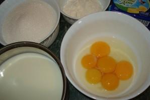 Крем яичный для торта - фото шаг 1