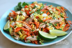 Куриный салат по-вьетнамски - фото шаг 5