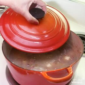 Суп с говядиной и зелёным чили - фото шаг 5