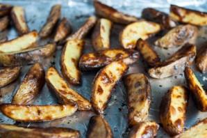 Картофель с рыбой в духовке - фото шаг 2