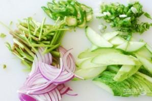 Салат из морепродуктов - фото шаг 4