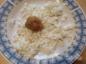 Куриные шарики в рисовой панировке - фото шаг 4