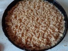 вегетарианский творожный пирог из песочного теста - фото шаг 6