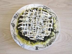Вегетарианская селедка под шубой - фото шаг 4