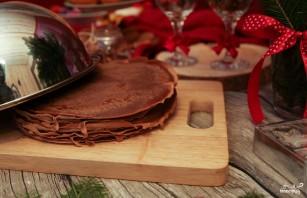 Блинный торт со сливочным кремом - фото шаг 5