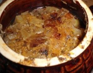 Мясо с грибами в горшочках - фото шаг 6