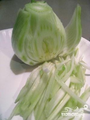 Салат из фенхеля с петрушкой - фото шаг 2