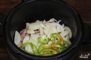 Чечевица со свининой в мультиварке  - фото шаг 1