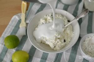 Сырники с изюмом и лимоном - фото шаг 3