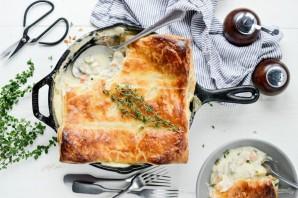 Пирог с индейкой и овощами - фото шаг 8