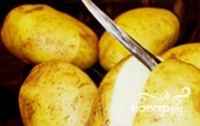 Молодой картофель в рукаве - фото шаг 1