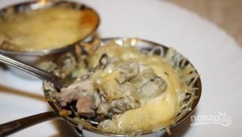 Жульен из курицы и грибов - фото шаг 5