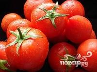 Маринованные помидоры с яблоками - фото шаг 1