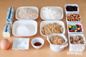 Печенье с изюмом, орехами и M&M's - фото шаг 1