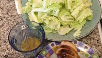 Салат с пекинской капусты - фото шаг 5