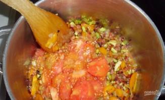 Суп с белой фасолью консервированной - фото шаг 3