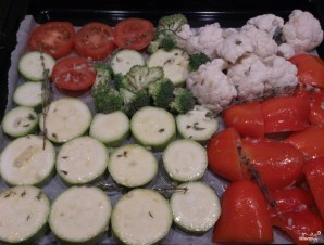 Овощи на гриле в духовке - фото шаг 2