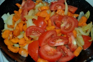 Рагу из кабачков и помидоров - фото шаг 2