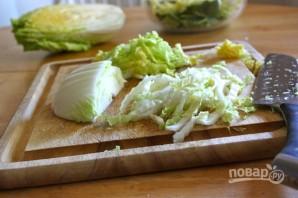 Лапша с говядиной и китайской капустой - фото шаг 3