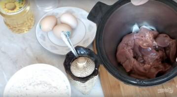 Рецепт блинов из печенки - фото шаг 2