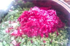 Свекольник с мясом - фото шаг 4