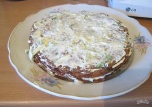Печеночный пирог (рецепт слоями) - фото шаг 11
