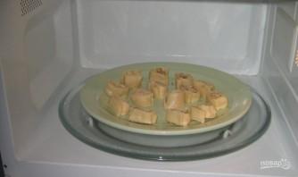 Сыр к пиву в микроволновке - фото шаг 4