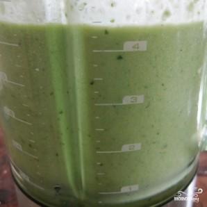Зеленый гаспачо для сыроедов - фото шаг 4