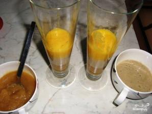 Слоеный фруктовый десерт - фото шаг 6