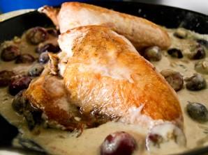 Курица под сливочным соусом - фото шаг 4