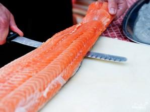 Рыба по-французски - фото шаг 1