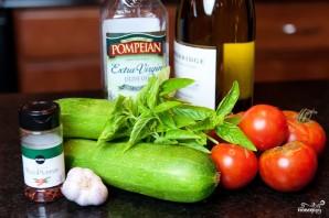 Цуккини с помидорами - фото шаг 1