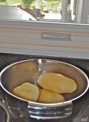 Картофельный салат с сельдереем - фото шаг 1