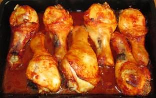 Куриная голень в соевом соусе - фото шаг 5