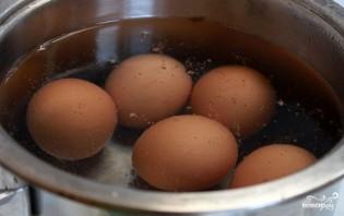 Яйца, фаршированные горчицей - фото шаг 1
