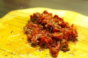 Спагетти с курицей и помидорами - фото шаг 5